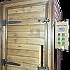 Коптильня 1300л холодного та гарячого копчення + просушування (Нержавійка всередині, дах плоский), фото 2
