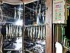 Коптильня 1300л холодного та гарячого копчення + просушування (Нержавійка всередині, дах плоский), фото 6