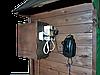 Коптильня 1300л холодного и горячего копчения + просушка (Нержавейка внутри, крыша домиком), фото 2