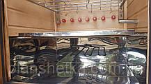 Электростатическая Коптильня 1300 л холодного и горячего копчения + просушка (Ольха внутри, крыша плоская), фото 2
