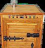 Электростатическая Коптильня 1300 л холодного и горячего копчения + просушка (Ольха внутри, крыша плоская), фото 4