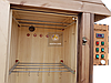 Электростатическая Коптильня 1300л холодного и горячего копчения + просушка (Ольха внутри, крыша домиком), фото 4
