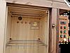 Електростатична Коптильня 1300л холодного та гарячого копчення + просушування (Вільха всередині, дах будиночком), фото 4
