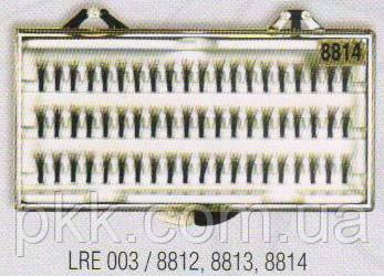 Пучки для наращивания ресниц 8814  La Rosa