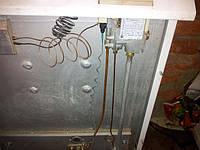 Труба(коакс.дымоход) и автоматика на парапетный котел Колви 10 TSY