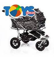 Дождевик для люльки Twinner Twist Duo, T-00/003-FZ
