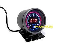 Тюнинговый автомобильный прибор Ket Gauge LED 96581 вольтметр тахометр, фото 1