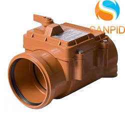 Клапан для канализации наружный 110