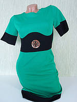 Стильное платье FASHION зеленое FS-26081, фото 1