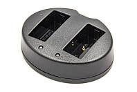 Зарядний пристрій PowerPlant Fujifilm NP-W126 для двох акумуляторів