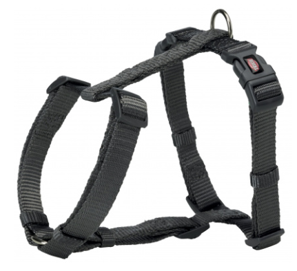 Шлея Trixie Premium H-Harness для собак нейлоновая, 42–60 см/ 15 мм.