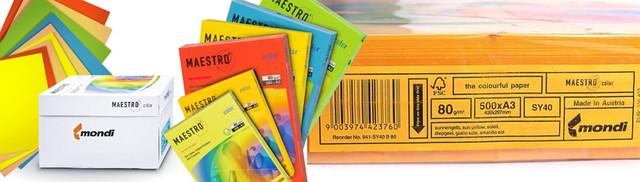 цветная бумага для ризографии, цветная бумага неоновая, яркая цветная бумага