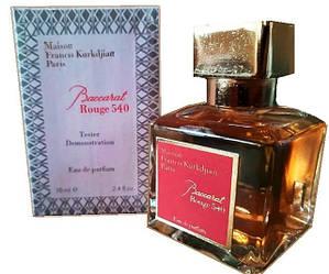 Женские Духи Тестер в стиле - Maison Francis Kurkdjian Baccarat Rouge 540 edp - 70ml