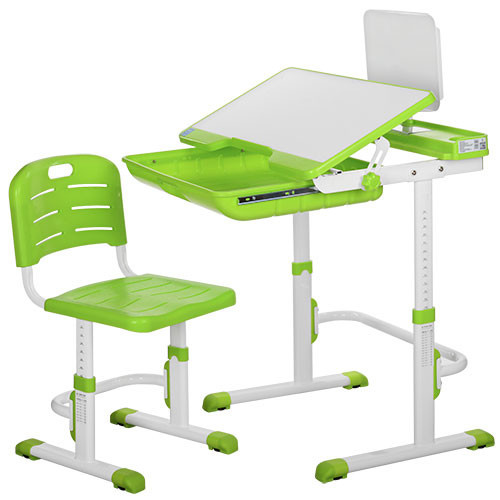 Детская регулируемая парта и стул (M 3111-5)
