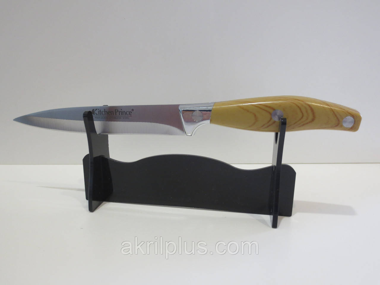 Оригинальная подставка для ножа на витрину