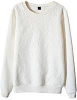Женский стильный свитшот с кружевом (женские кофты, кофточки, толстовки и регланы, свитера и кардиганы)