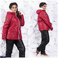 Зимний женский теплый лыжный костюм р42-44,46-48, фото 1