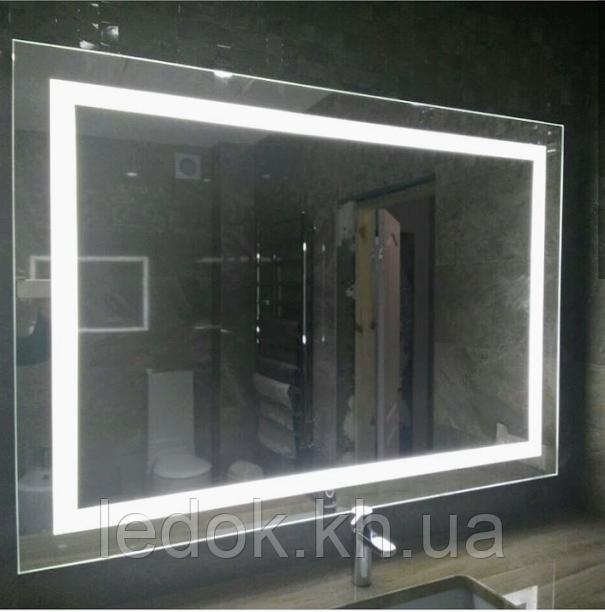 Зеркало с LED подсветкой Лайт Z2 80*60см