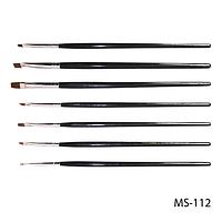 Набор кистей SK-23 (MS-112) для китайской росписи (нейлон, 7 шт)#S/V