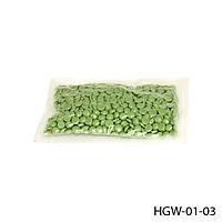 Гранулированный горячий воск HGW-01-03, 100 г - зеленый, #S/V