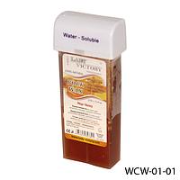 Водорастворимый воск в картридже WCW-01-01, 150 г — мёд, #S/V