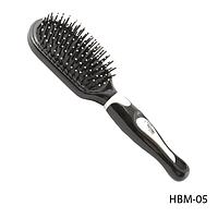 Расческа классическая HBM-05 с защитными шариками на зубцах, размер: 23,5х6,5 см 15683
