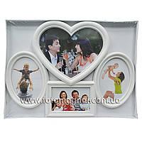 Мультирамка LOVE  пластиковая,коллаж (рамки для фотографий на стену).1/15х10,2/13х18,1/20х25см.
