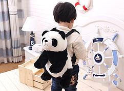 Милый, детский рюкзачок в виде панды, сумка панда
