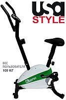 Тренажер велосипед USA Style SS-RW-37.2,Магнитная,7,Тип Вертикальный , 18, 12, BA100, Домашнее, 100, 1 - 10
