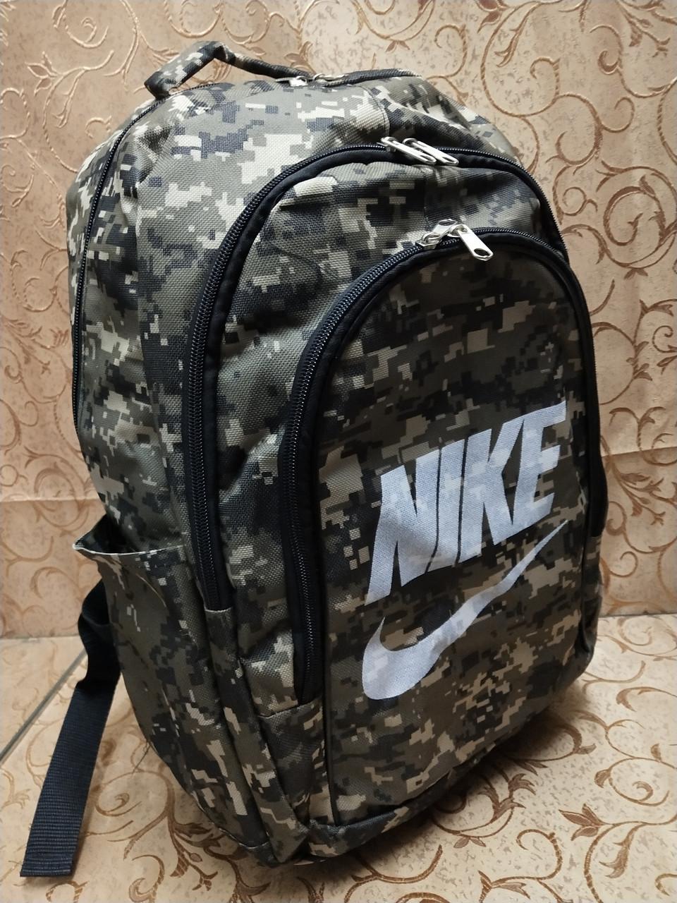 (46*31)Принт камуфляж рюкзак nike/спортивный спорт  городской ОПТ
