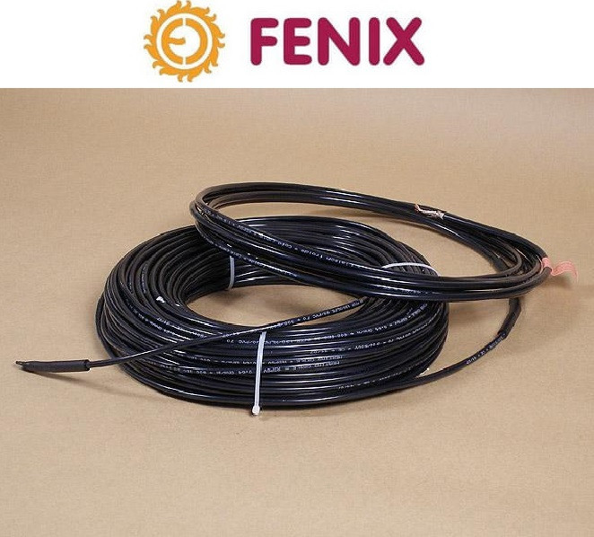 Двужильный нагревательный кабель  FENIX ADPSV 30 340 Вт / 11 м для наружного обогрева (Чехия)