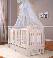 Детская кроватка Angelo Lux -8 Цвет слонова кость