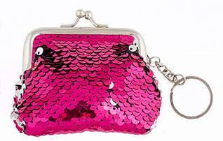 Брелок-гаманець з паєтками