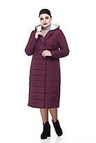 Размеры от 48 до 60 теплое демисезонное пальто разные цвета, фото 2
