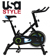 Тренажер велосипед USA Style SS-BK-301 серия Starfit,Магнитная,8,Тип Вертикальный , 30, 12, BA100, Домашнее, 100, 1 - 9