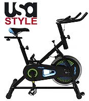 Home велотренажер USA Style SS-BK-301 серия Starfit,Магнитная,7,Тип Вертикальный , 30, 12, BA100, Домашнее, 100, 1 - 9