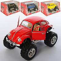 Машинка KT 5057 WB мет., інерц., гум.колеса, відчин.двері, 4 кольори, кор., 15-8,5-9 см.