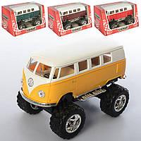 Машинка КТ 5060 WБ мет., інерц., гум.колеса, відчин.двері, 4 кольори, кор., 16-8,5-9 см.