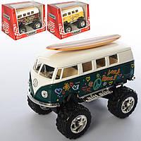 Машинка КТ 5060 WFBS1 мет., інерц., гум.колеса, відчин.двері, кор., 15,5-10,5-9,5 см.
