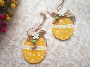 Яйца пасхальные для декора, желтые