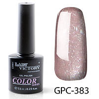Новинка! Гель-лак с мерцанием  Lady Victory GPC-383#S/V