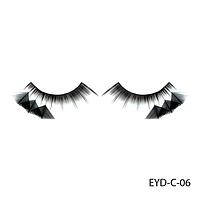 Ресницы декоративные накладные Lady Victory EYD-C-06 с натуральными перьями#S/V