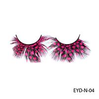 Ресницы декоративные накладные Lady Victory EYD-10#S/V