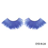 Ресницы декоративные накладные Lady Victory EYD-N-24 из натуральных перьев 16272