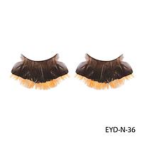 Ресницы декоративные накладные Lady Victory EYD-N-36 из натуральных перьев#S/V