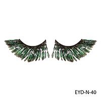 Ресницы декоративные накладные Lady Victory EYD-N-40 из натуральных перьев#S/V