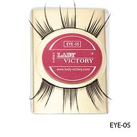 Ресницы декоративные накладные Lady Victory на половину века EYE-05#S/V