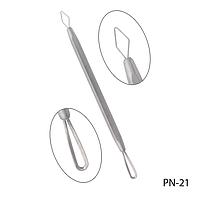 Петля косметологическая PN-21 для чистки лица, двухсторонняя, #S/V