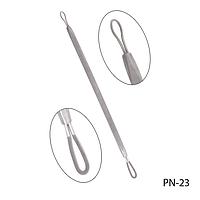 Петля косметологическая PN-23 для чистки лица, двухсторонняя, #S/V