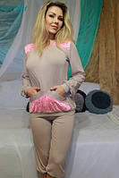 Женская пижама с кружевными вставками КЭТРИН FLEUR Lingerie